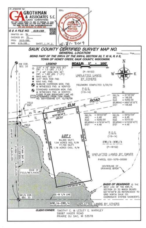 L1 Elm Rd, Honey Creek, WI 53577 (#1861754) :: HomeTeam4u