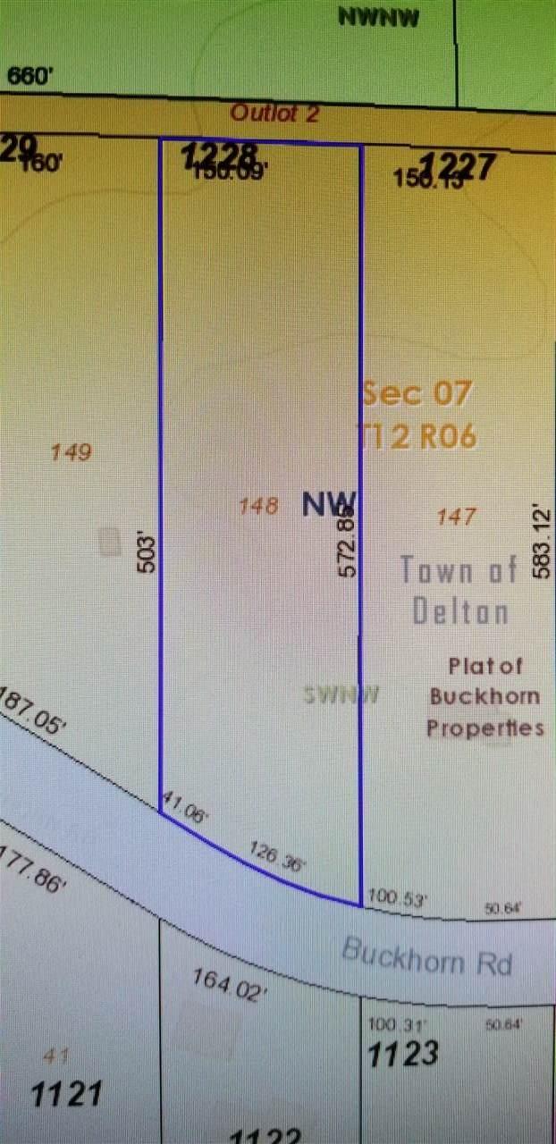 1.87 Ac Buckhorn Rd, Delton, WI 53959 (#1870680) :: HomeTeam4u