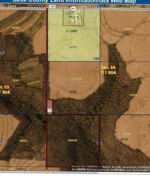 42.55 Ac County Road W, Westfield, WI 53943 (#1878954) :: Nicole Charles & Associates, Inc.