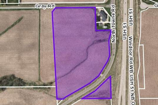 19.66 Ac North Towne Rd/Gray Rd, Windsor, WI 53598 (#1886748) :: Nicole Charles & Associates, Inc.