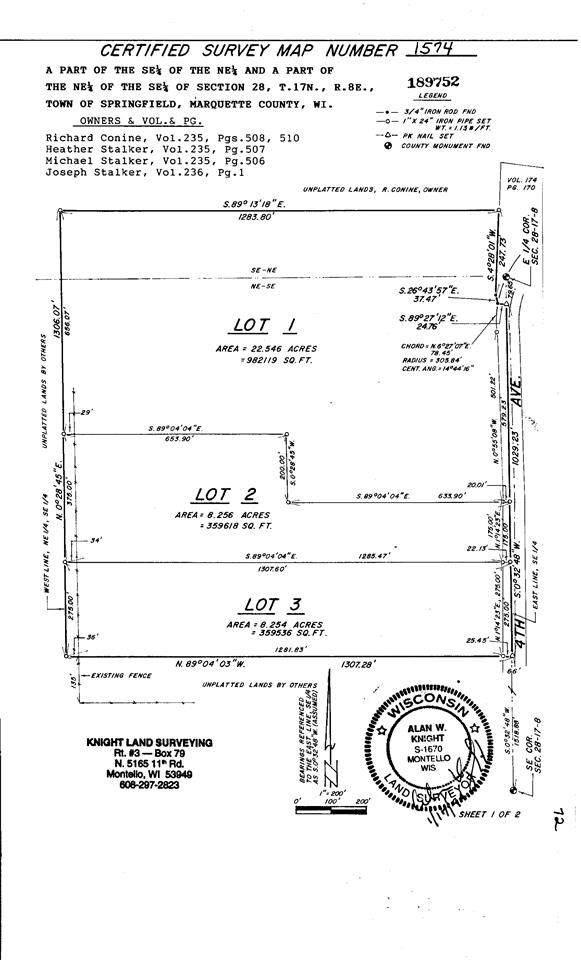 8.26 Ac 4th Ave, Springfield, WI 53964 (#1892266) :: Nicole Charles & Associates, Inc.