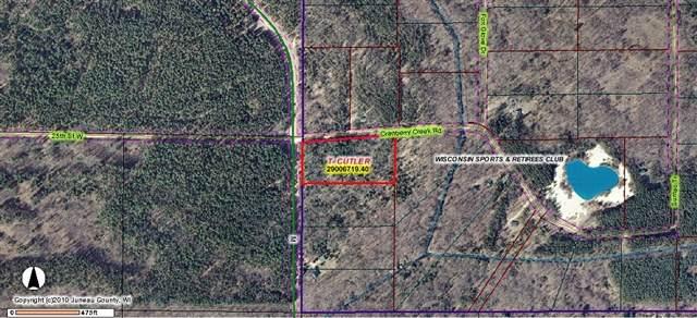 0 Cranberry Creek Rd, Cutler, WI 53950 (#1892278) :: HomeTeam4u
