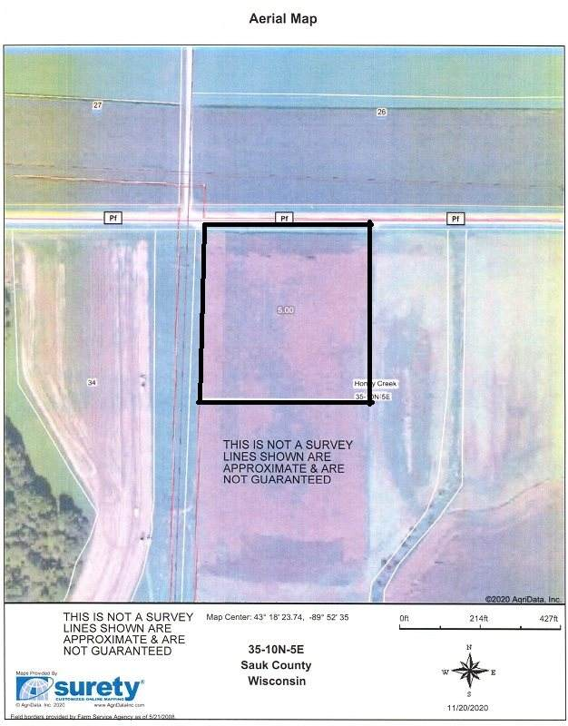 5 Ac County Road Pf, Honey Creek, WI 53578 (#1898336) :: Nicole Charles & Associates, Inc.