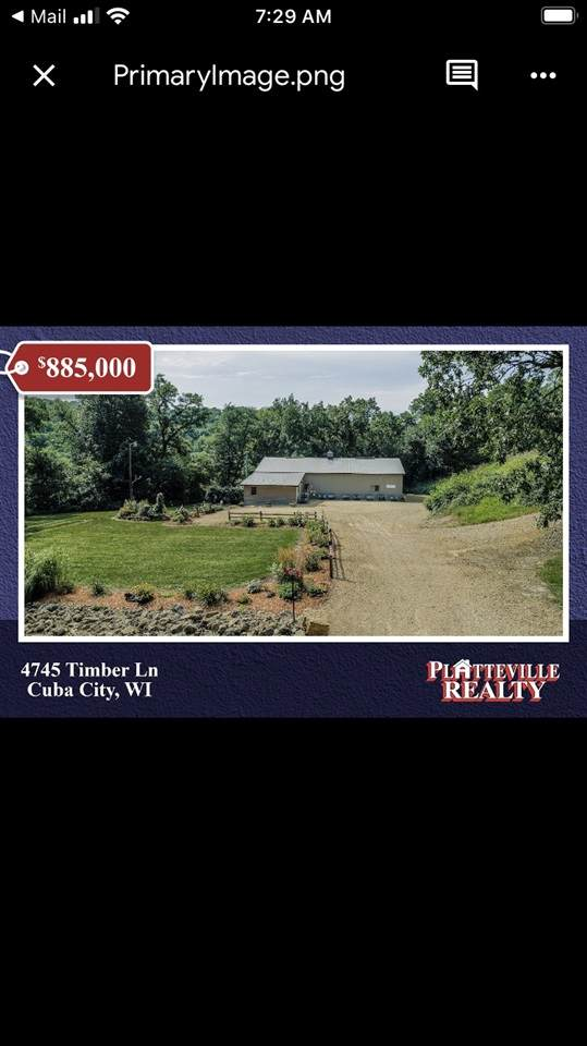 4547 Timber Ln, Jamestown, WI 53807 (#1890557) :: HomeTeam4u