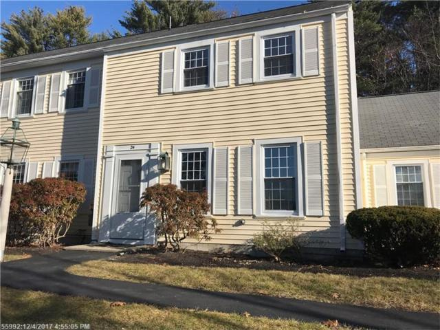 24 Colonial Vlg 24, Falmouth, ME 04105 (MLS #1332391) :: The Freeman Group