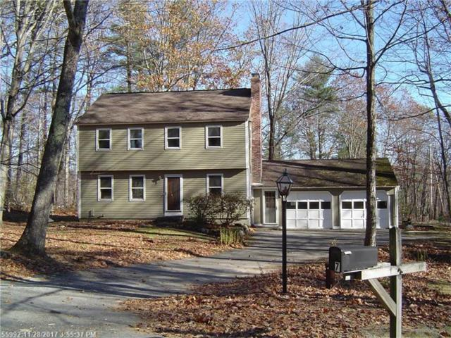 7 Birch Glade, Standish, ME 04084 (MLS #1333451) :: The Freeman Group
