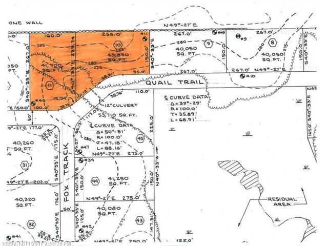 Lots #10 & 11 Quail Trl, Buxton, ME 04093 (MLS #1334465) :: The Freeman Group