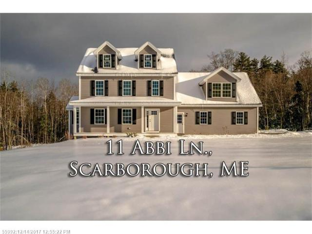 11 Abbi Ln, Scarborough, ME 04074 (MLS #1334671) :: The Freeman Group
