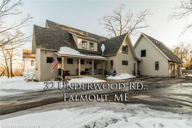 32 Underwood Rd, Falmouth, ME 04105 (MLS #1339094) :: DuBois Realty Group