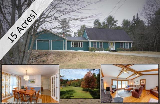 633 Newell Brook Rd, Durham, ME 04222 (MLS #1345649) :: DuBois Realty Group
