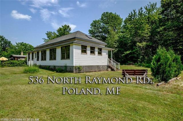 536 N Raymond Rd, Poland, ME 04274 (MLS #1360258) :: DuBois Realty Group