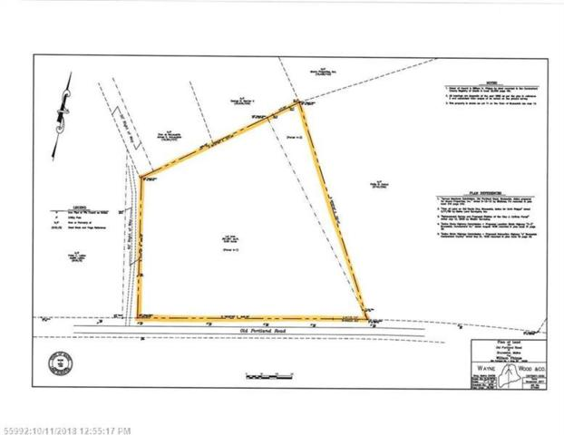 Map 13 Lot 11 Old Portland Rd, Brunswick, ME 04011 (MLS #1373485) :: DuBois Realty Group