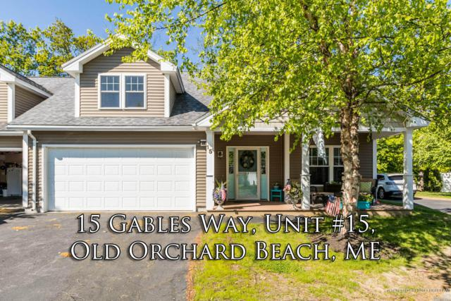 15 Gables Way Way #10, Old Orchard Beach, ME 04064 (MLS #1419793) :: Your Real Estate Team at Keller Williams