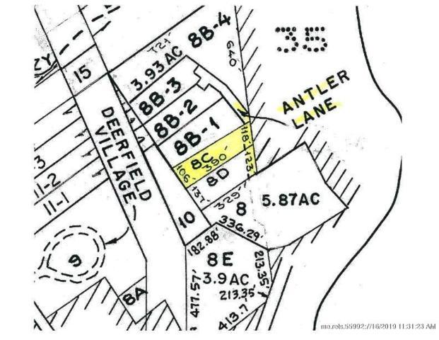 Map 15-8C Antler Lane, Bridgton, ME 04009 (MLS #1424843) :: Your Real Estate Team at Keller Williams