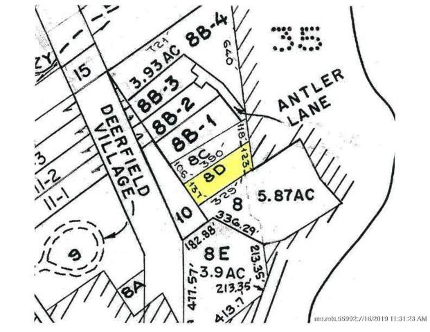 Map 15-8D Antler Lane, Bridgton, ME 04009 (MLS #1424846) :: Your Real Estate Team at Keller Williams