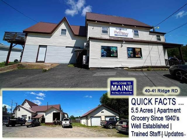 40 Ridge Road, Oakfield, ME 04763 (MLS #1465105) :: Keller Williams Realty