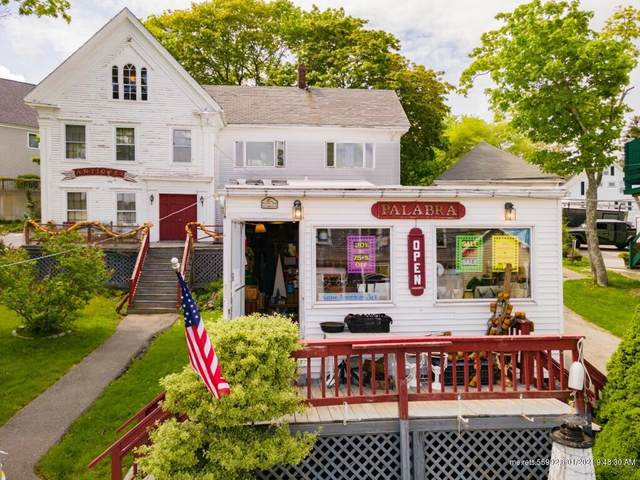 53 Commercial Street, Boothbay Harbor, ME 04538 (MLS #1494127) :: Linscott Real Estate