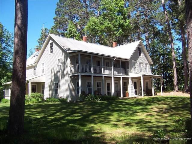 127 The Pines Road, Sakom Twp, ME 04637 (MLS #1495214) :: Linscott Real Estate