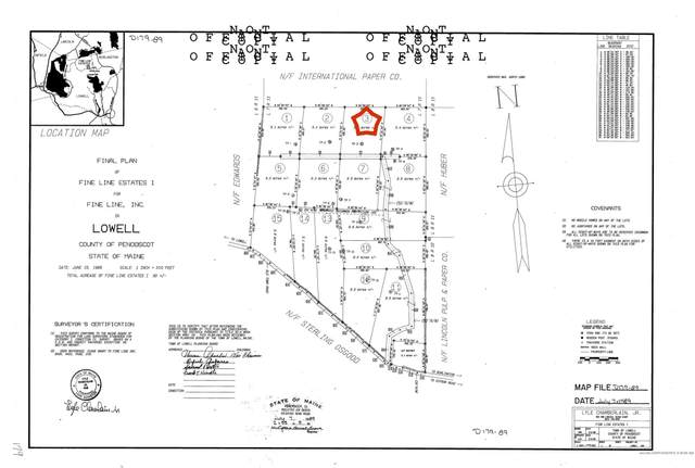 Lot 3 Off James Jipson Road, Lowell, ME 04493 (MLS #1506617) :: Linscott Real Estate