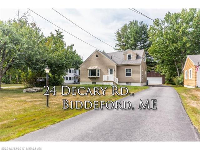24 Decary Rd, Biddeford, ME 04005 (MLS #1322949) :: Keller Williams Coastal Realty