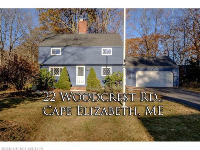 22 Woodcrest Rd, Cape Elizabeth, ME 04107 (MLS #1332891) :: The Freeman Group
