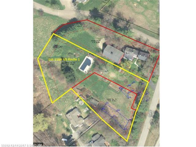 Lot 116A Us Route 1, Falmouth, ME 04105 (MLS #1334082) :: The Freeman Group