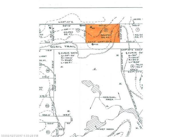 Lot #8 Quail Trl, Buxton, ME 04093 (MLS #1334260) :: The Freeman Group