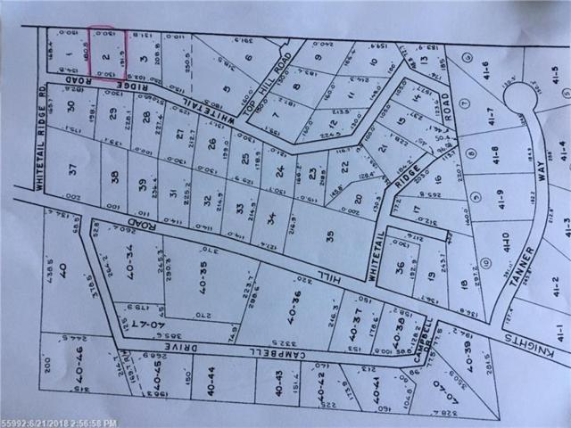 Lot 2 White Tail Ridge Rd, Bridgton, ME 04009 (MLS #1357024) :: DuBois Realty Group
