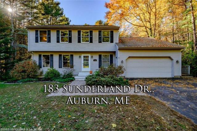 183 Sunderland Dr, Auburn, ME 04210 (MLS #1372783) :: DuBois Realty Group