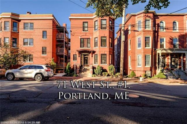 71 West Street 1, Portland, ME 04102 (MLS #1374484) :: DuBois Realty Group