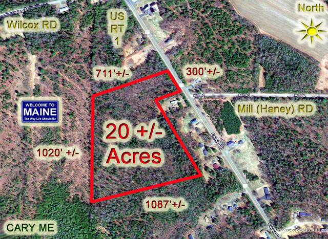 Lot 39 Us Route 1 Highway, Cary Plt, ME 04471 (MLS #1407636) :: Your Real Estate Team at Keller Williams