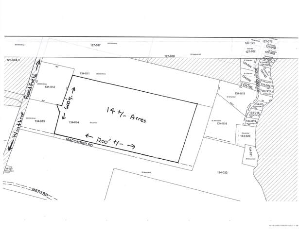 14 Ac. Lot Macomber Road, Readfield, ME 04355 (MLS #1438250) :: Your Real Estate Team at Keller Williams