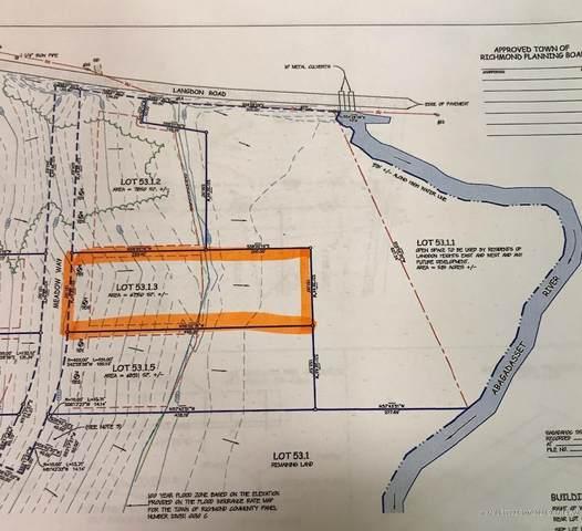 Lot 53-1.3 Meadow Way Drive, Richmond, ME 04357 (MLS #1478612) :: Keller Williams Realty