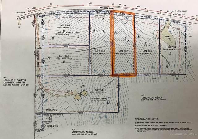 Lot 53-04 Langdon Road, Richmond, ME 04357 (MLS #1478619) :: Keller Williams Realty