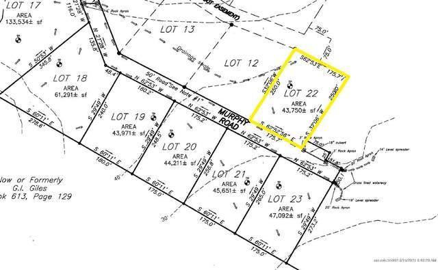62 Murphy Road, Boothbay, ME 04537 (MLS #1484075) :: Keller Williams Realty