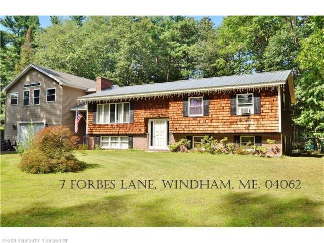 7 Forbes Ln, Windham, ME 04062 (MLS #1323152) :: Keller Williams Coastal Realty