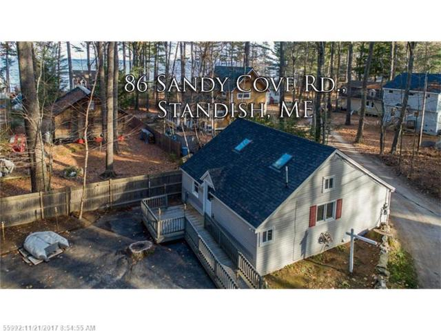 86 Sandy Cove Rd, Standish, ME 04084 (MLS #1333201) :: The Freeman Group