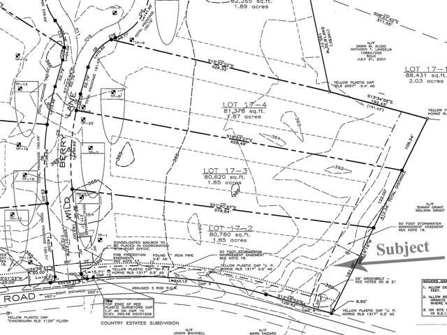 Lot 17-2 Wild Berry Lane, Waterboro, ME 04030 (MLS #1409484) :: Your Real Estate Team at Keller Williams