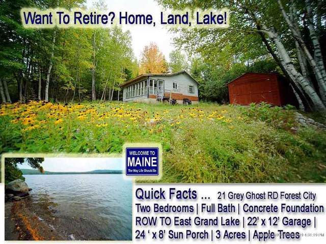 21 Grey Ghost Road, Forest City Twp, ME 04413 (MLS #1439279) :: Your Real Estate Team at Keller Williams