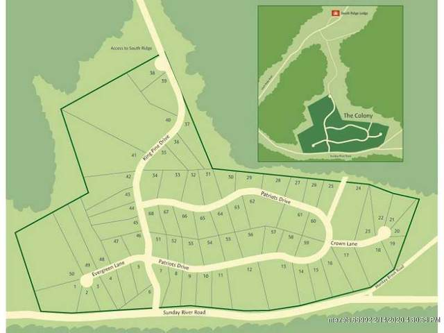 Lot 45 King Pine Drive, Newry, ME 04261 (MLS #1115803) :: Your Real Estate Team at Keller Williams