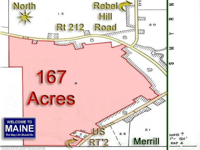 Lot 8 Route 212, Merrill, ME 04780 (MLS #1244770) :: Herg Group Maine