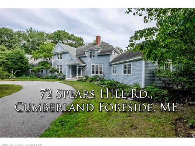 72 Spears Hill Ln, Cumberland, ME 04110 (MLS #1320557) :: Keller Williams Coastal Realty
