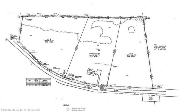 267 Clarks Bridge Road - Lot #2, Waterboro, ME 04087 (MLS #1316030) :: DuBois Realty Group