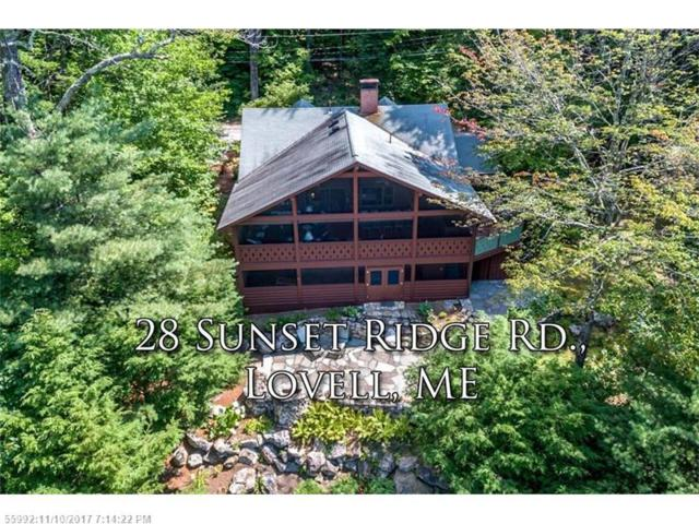 28 Sunset Ridge Rd, Lovell, ME 04051 (MLS #1320054) :: DuBois Realty Group