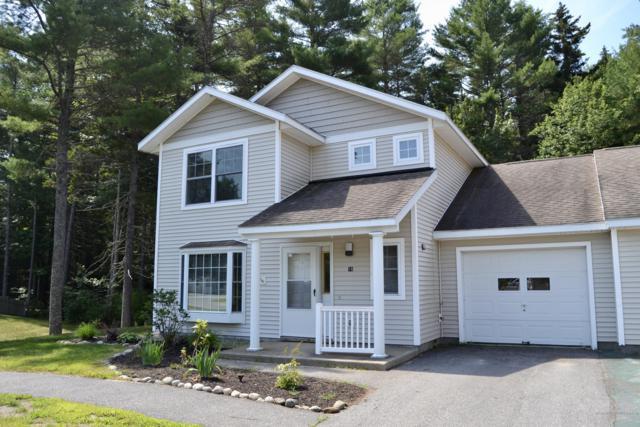 16 Beaver Pond Road #16, Brunswick, ME 04011 (MLS #1362011) :: Your Real Estate Team at Keller Williams