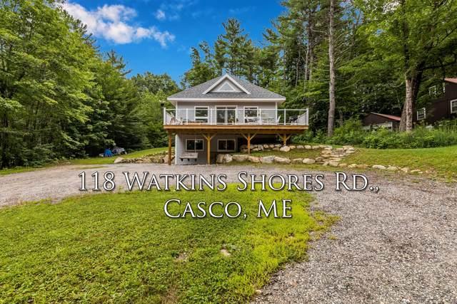 118 Watkins Shores Road, Casco, ME 04015 (MLS #1504340) :: Linscott Real Estate