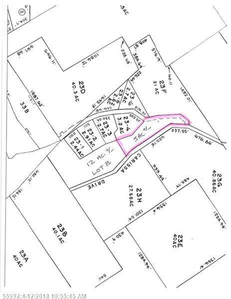 Lot B Carissa Dr, Bridgton, ME 04009 (MLS #1345104) :: DuBois Realty Group