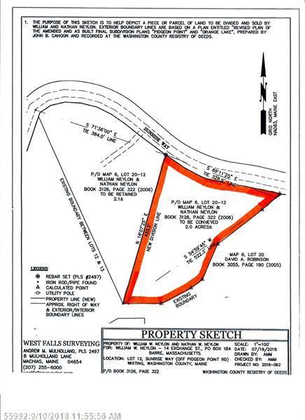 Lot 12A Sunrise Way, Whiting, ME 04691 (MLS #1369431) :: Herg Group Maine