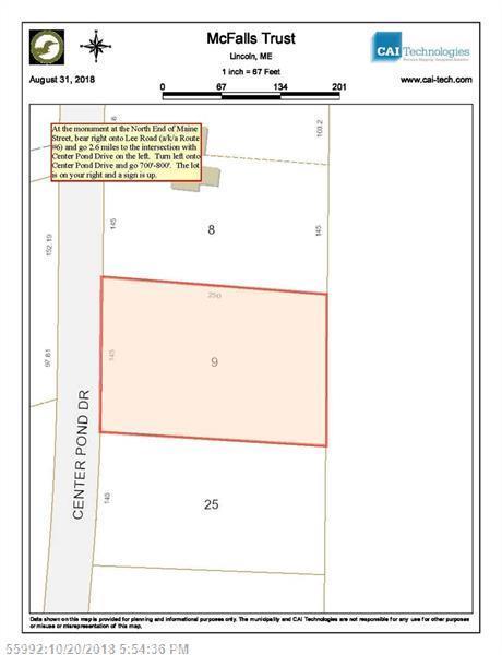TBD Center Pond Dr, Lincoln, ME 04457 (MLS #1373995) :: DuBois Realty Group