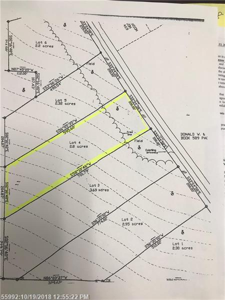 Lot#4 139 Route, Thorndike, ME 04986 (MLS #1374411) :: Your Real Estate Team at Keller Williams
